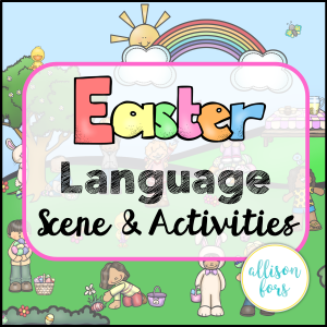 easter speech therapy
