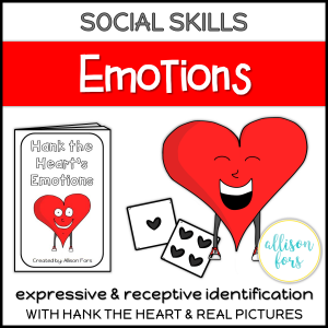 emotions speech therapy