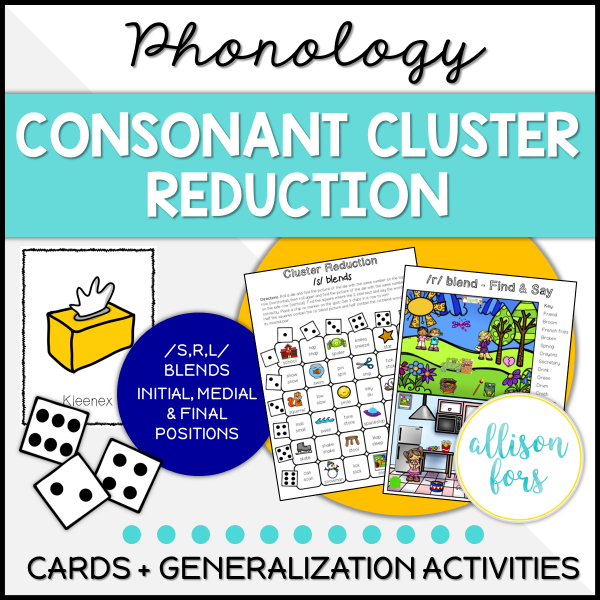 consonant cluster reduction
