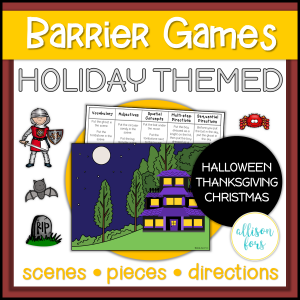 holiday barrier games