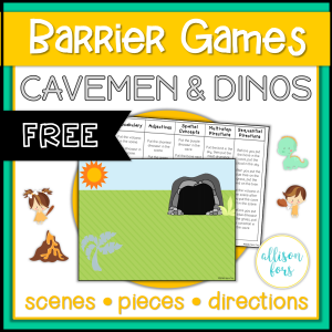 barrier games free speech therapy