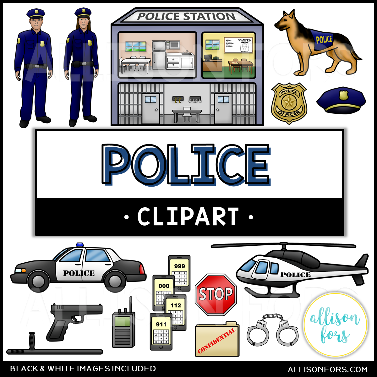 community helpers police clip art allison fors community helpers police clip art