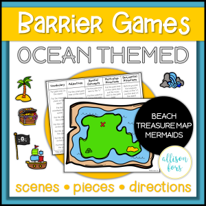 ocean barrier games speech therapy
