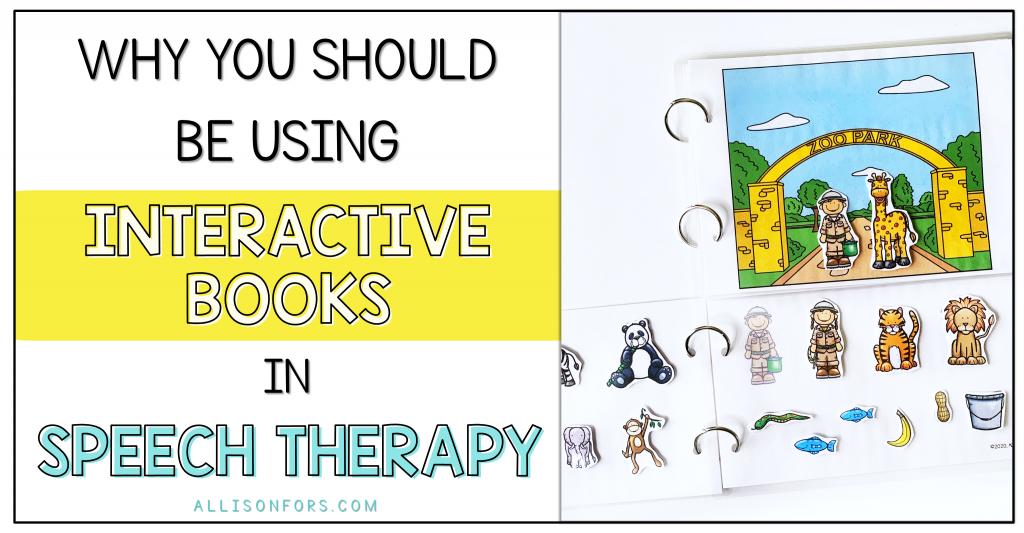 INTERATIVE BOOKS SPEECH THERAPY