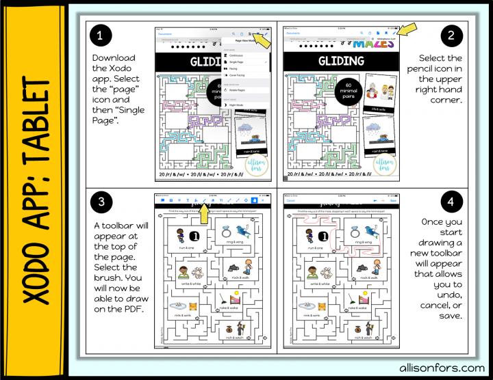 How to Draw on PDF Xodo app