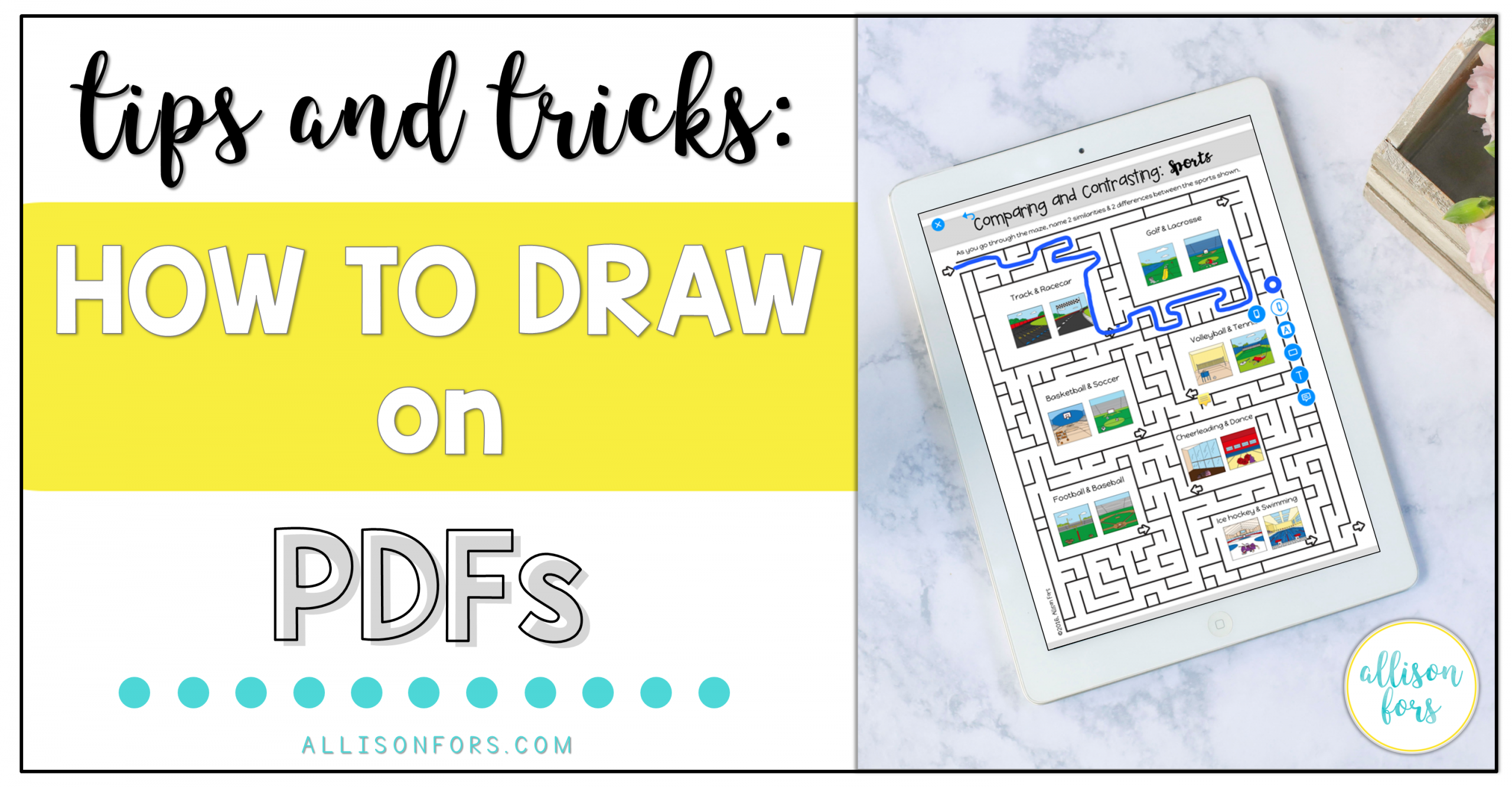 Tips and Tricks: How to Draw on PDFs
