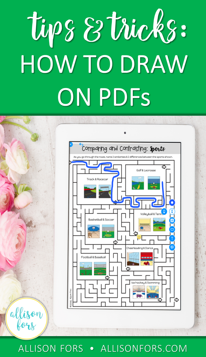 how to draw on pdfs