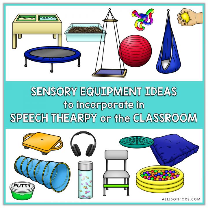 sensory equipment