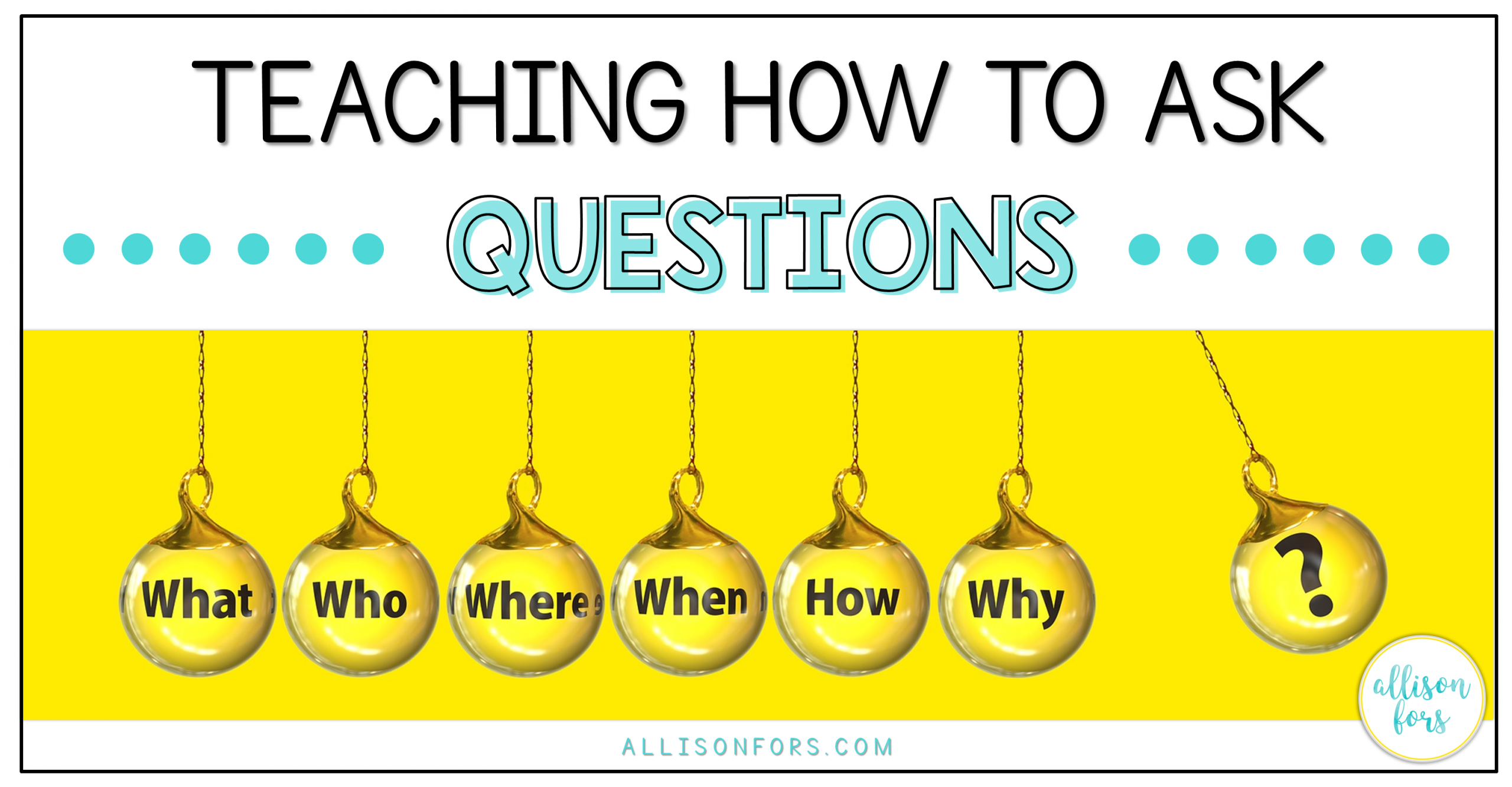 Teaching How to Formulate and Ask Questions