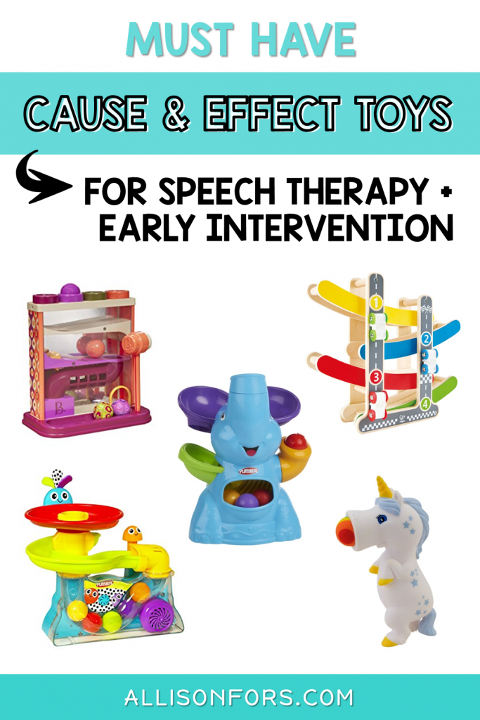 cause and effect toys speech therapy