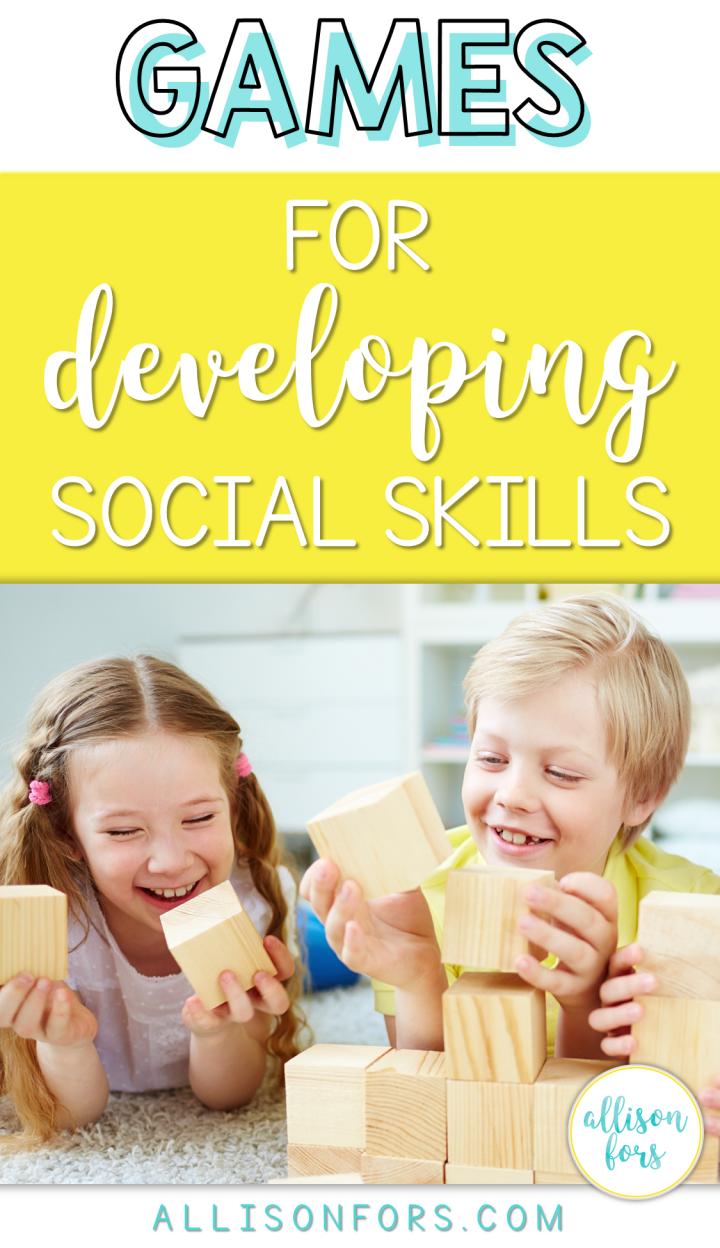 social skills game pinterest