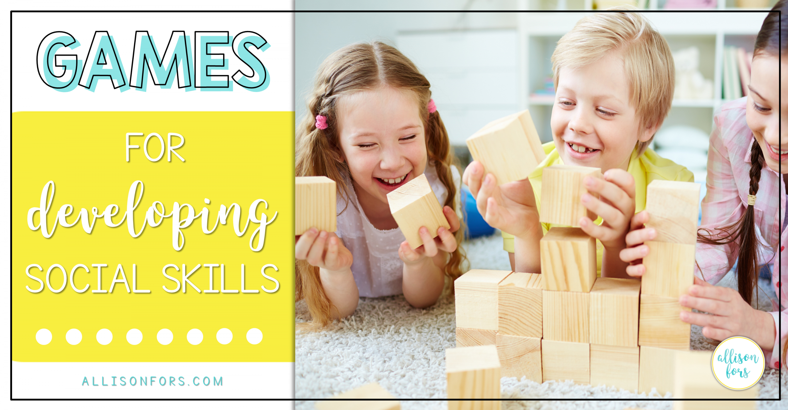 Games for Developing Social Skills