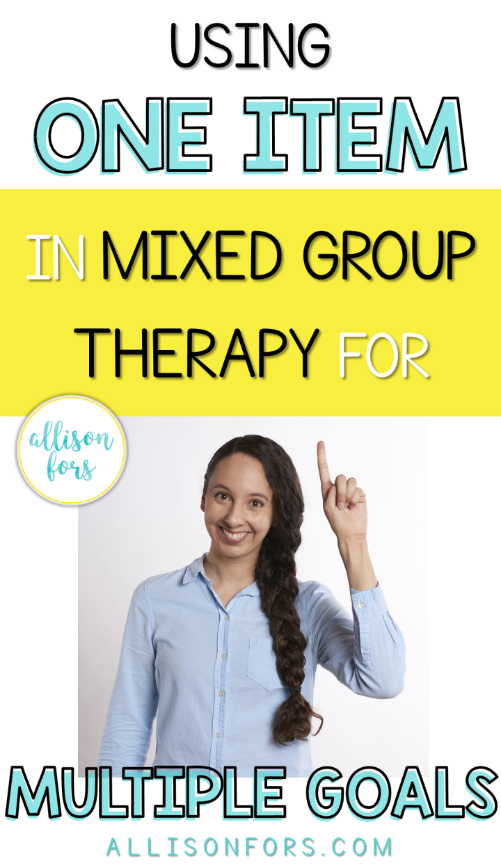 one item group therapy