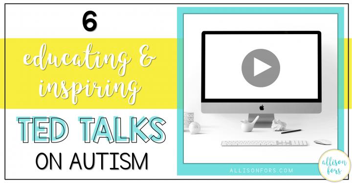 educational TED Talks on autism post