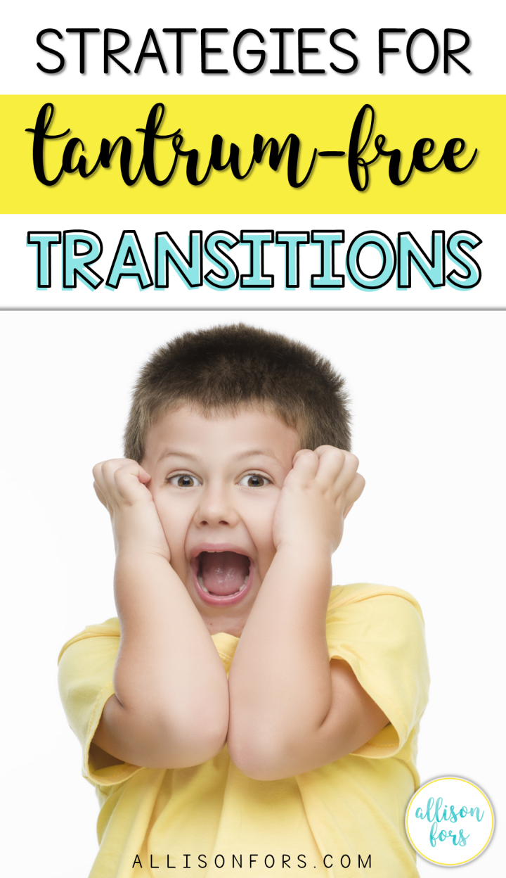 EASY TRICKS FOR SMOOTH TRANSITIONS IN SPEECH THERAPY