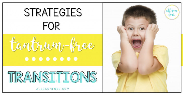 Tips for transitions in speech therapy