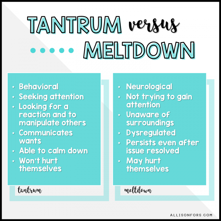 tantrum speech therapy