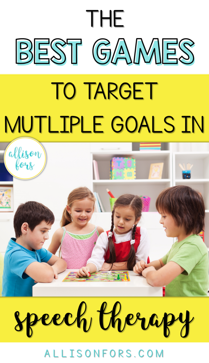 Best Speech Therapy Games to Target Multiple Goals