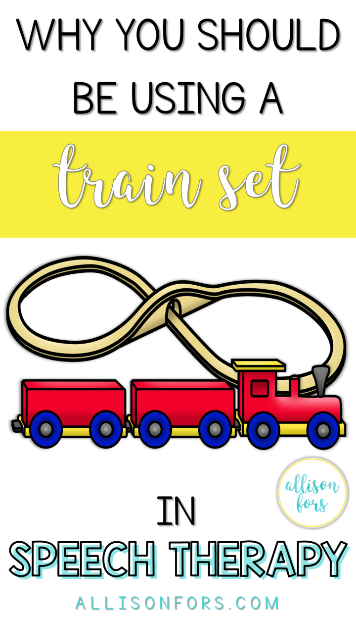 Train Set in speech therapy