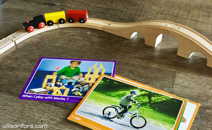 speech therapy train set