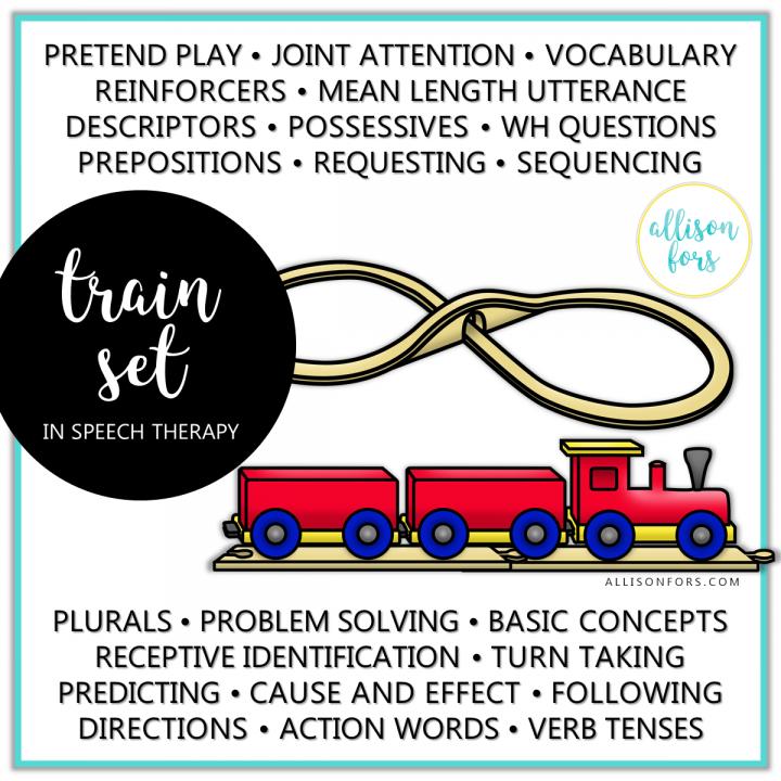 train set speech therapy