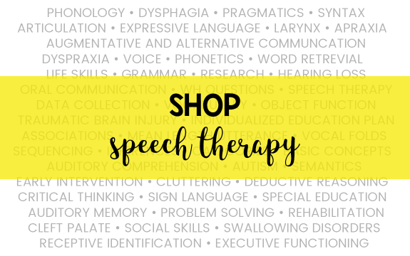 Shop Speech Therapy
