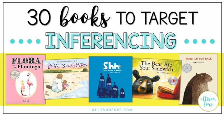 30 Books to Target Inferencing in Speech Therapy
