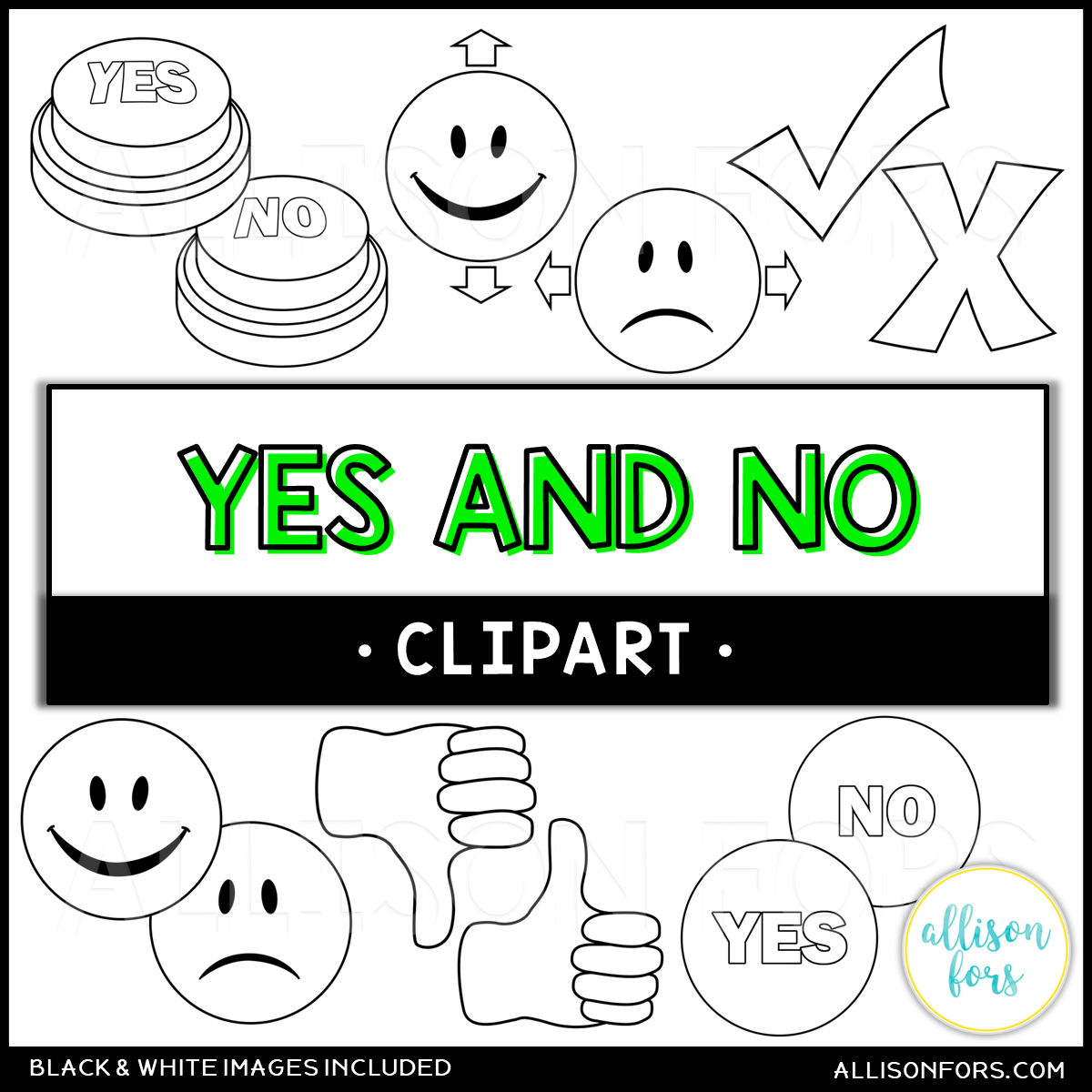 yes-no- free clip art | downsizing the home