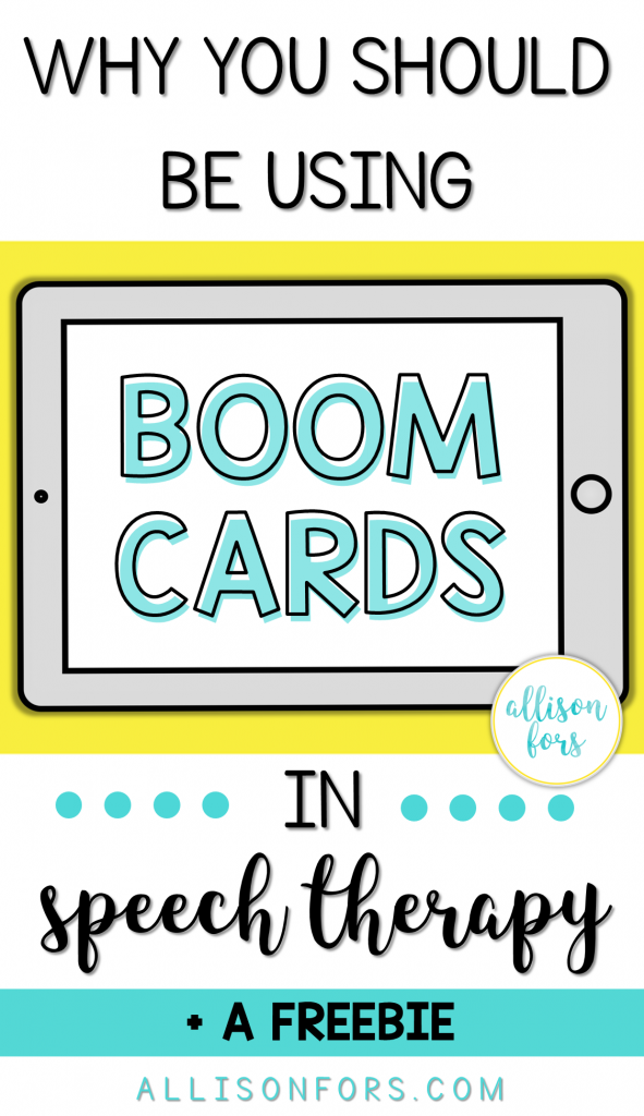 Why You Should Be Using Boom Cards in Speech Therapy