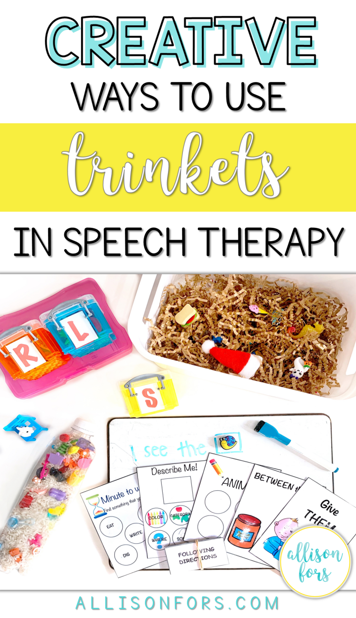 Creative Ways to Use Manipulatives in Speech Therapy