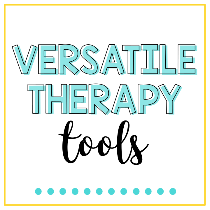 versatile speech therapy tools