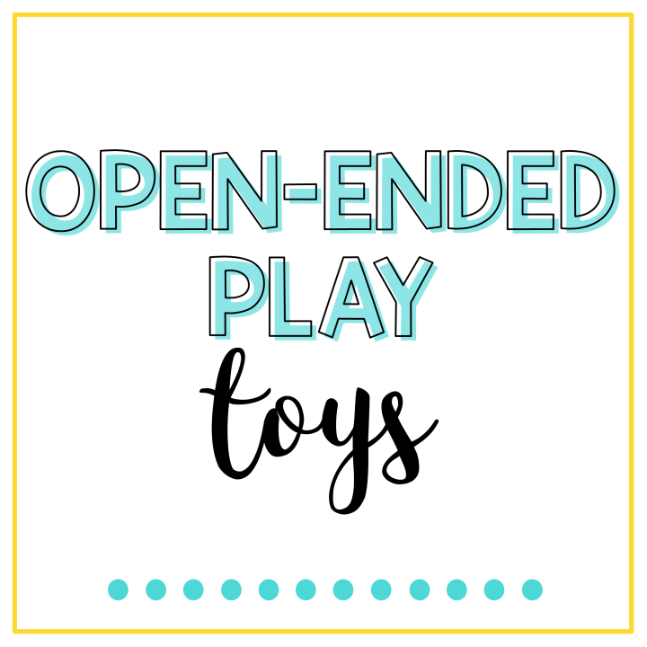 open ended play toys