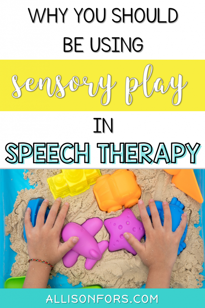Sensory Play in Speech Therapy