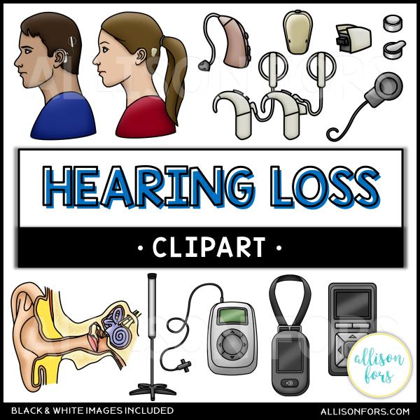 hearing loss clipart