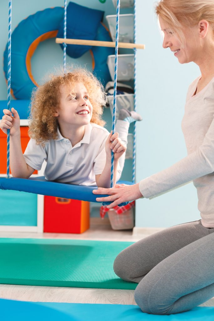swing movement in speech therapy