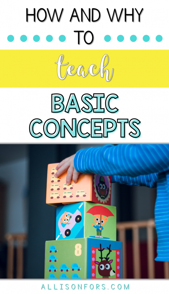 TEACH BASIC CONCEPTS SPEECH THERAPY