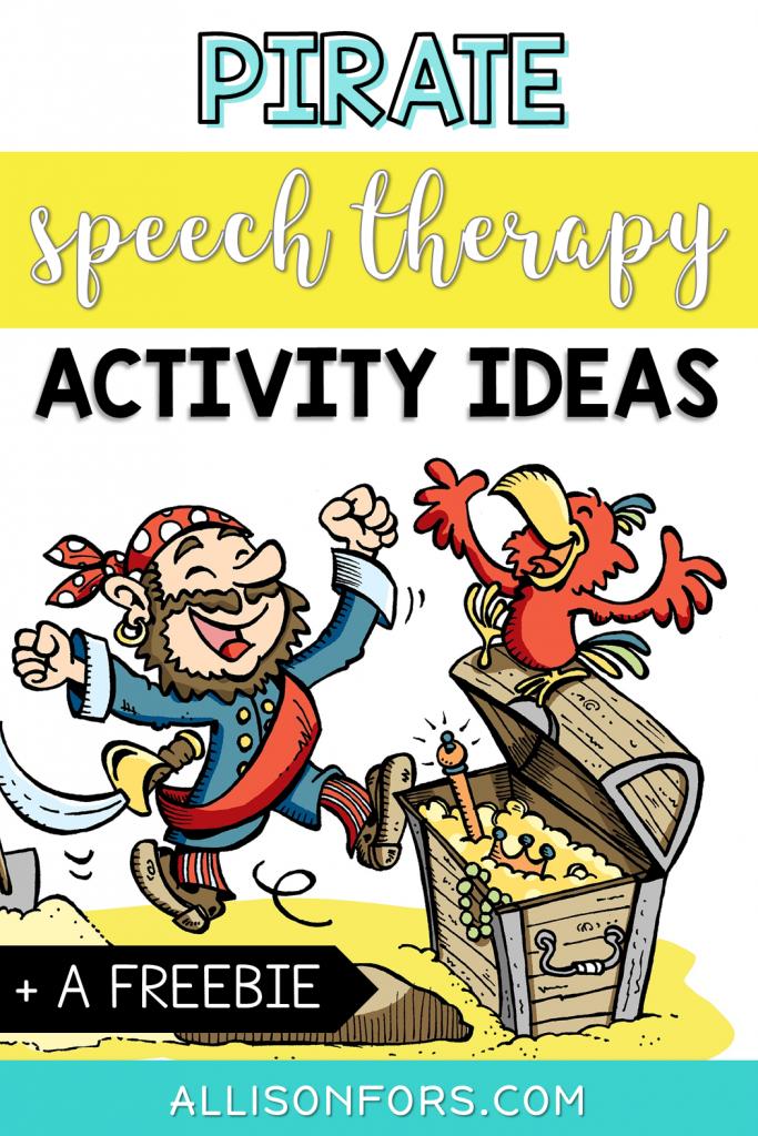 Pirate Speech Therapy