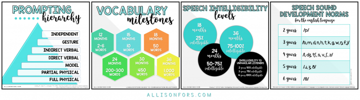 free speech therapy printables