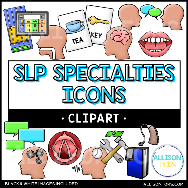 speech therapy icons