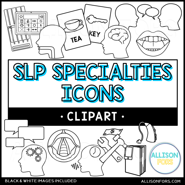 speech therapy icons 2