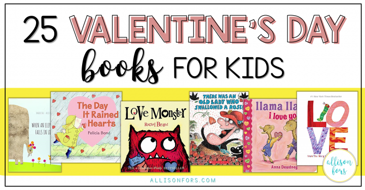 25 Valentine's Day Books for Kids