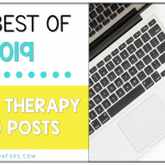 Best Speech Therapy Blog Posts of 2019