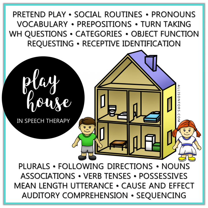 playhouse speech therapy