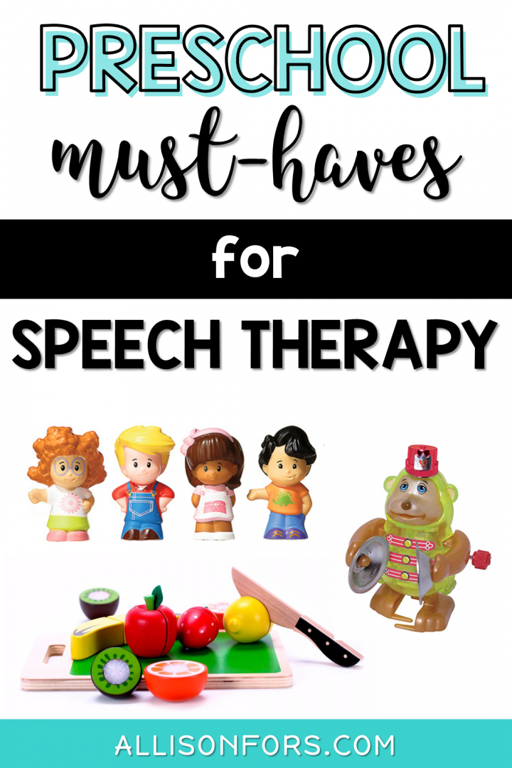preschool speech therapy