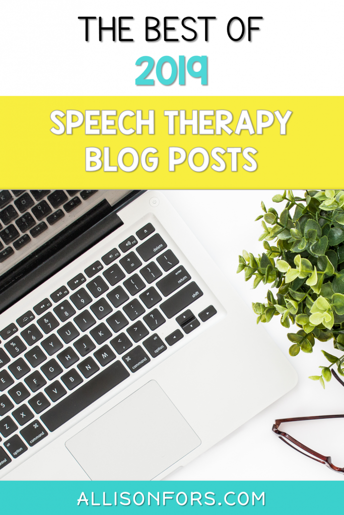 speech therapy blog posts