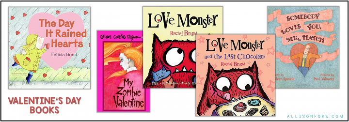 valentines day books 1