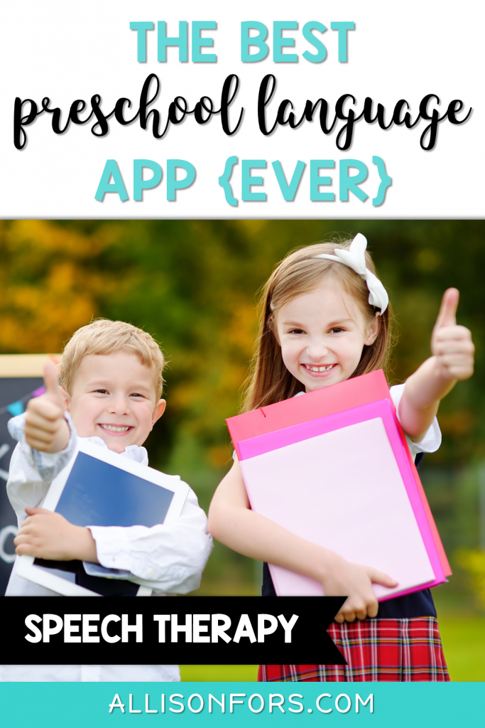 my playhome app preschool language