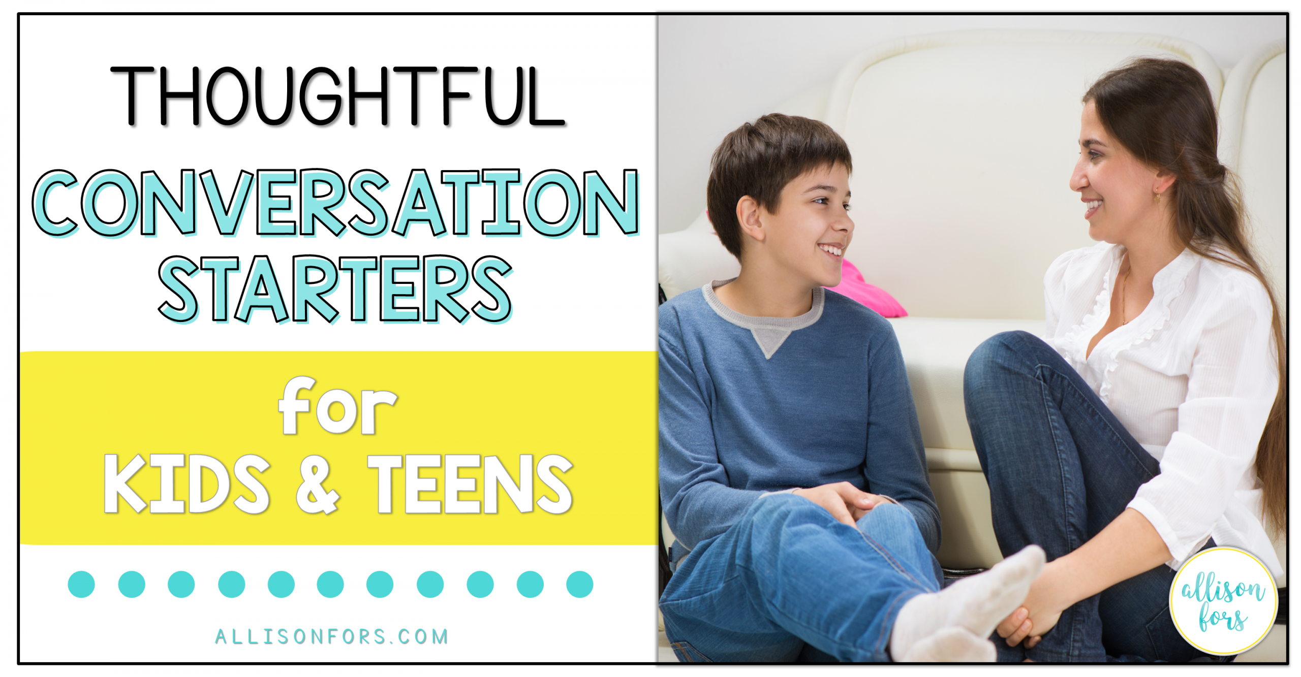 Thoughtful Conversation Starters for Kids and Teens