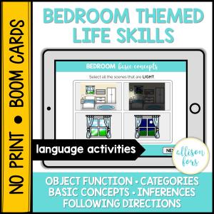 bedroom life skills