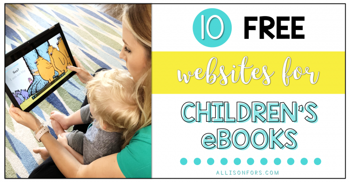 10 Online Sources of Free Children's eBooks